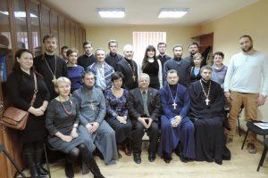 """У Михайлівському монастирі розпочався 5-денний семінар """"Роль священика на війні"""""""