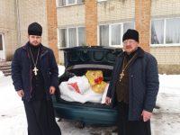 Духовенство Калинівського благочиння Вінницької єпархії відвідало Дитячий будинок сиріт
