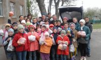 You are currently viewing Дітей з школи-інтернат на Вінничині привітали з Великоднем
