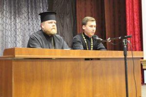 Єпископ Запорізький і Мелітопольський Фотій прочитав лекцію про смертний гріх самогубства у військовій частині 3029 НГУ