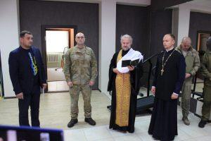 Митрополит Черкаський і Чигиринський Іоан взяв участь відкритті реабілітаційного центру для воїнів АТО