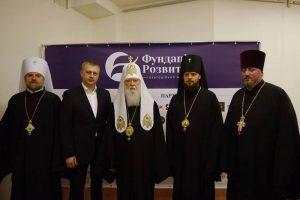 Святійший Патріарх Філарет відвідав презентацію галереї-музею «ІСТОРІЯ СТАНОВЛЕННЯ УКРАЇНСЬКОЇ НАЦІЇ»