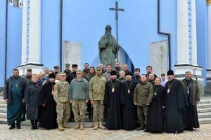 Відбулась зустріч з капеланською службою Єврокомандування США в Європі
