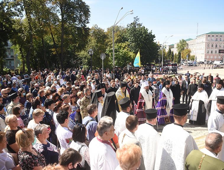 Панахида в День пам'яті захисників України