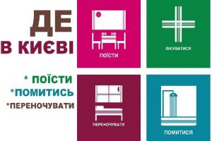 ДЕ в Києві поїсти, помитися, переночувати